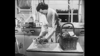 "The Good Housewife ""In Her Kitchen"" (1949)"