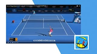 Best tennis game for PC - Tennis Elbow 2013 - Nadal vs Nishikori