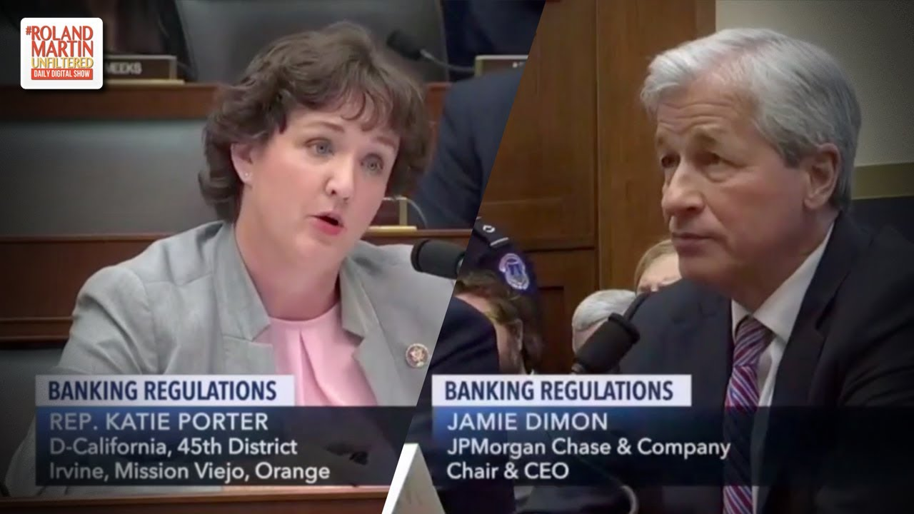 Rep  Porter Grills Jamie Dimon On His $31M Salary & Income/Expenses Of An  Entry-Level Bank Employee