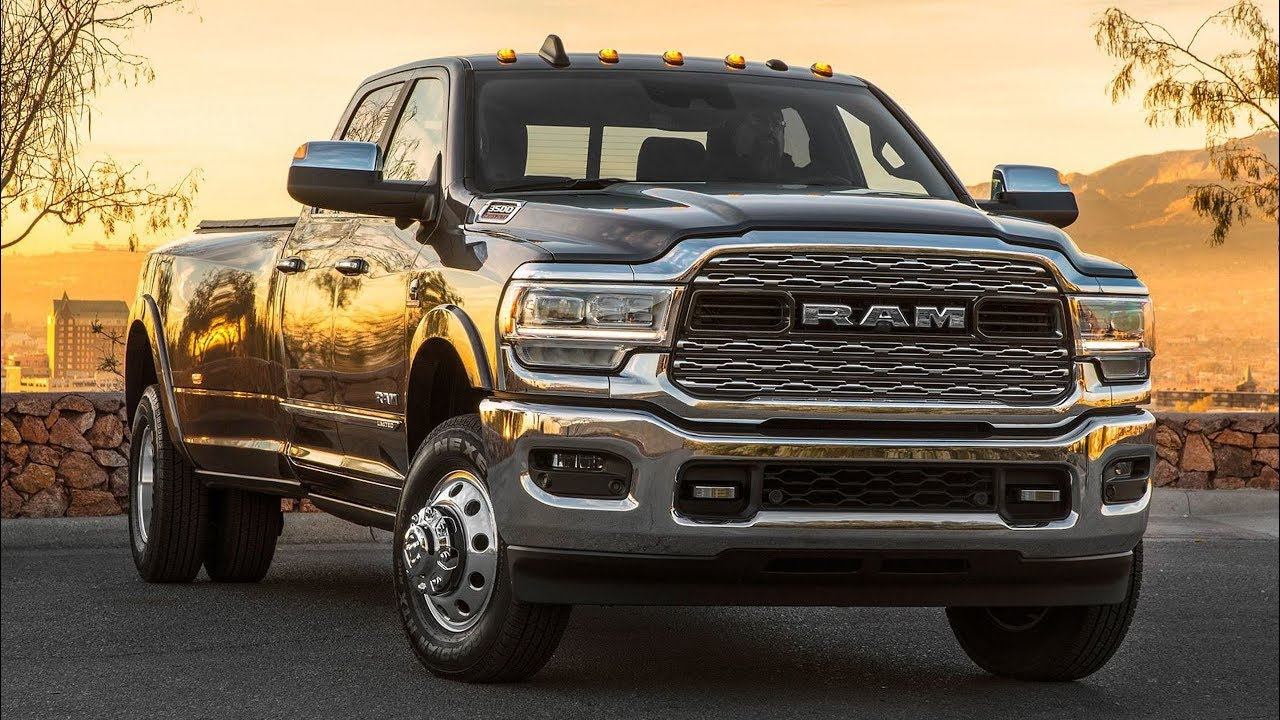 2020 Ram 3500 Heavy Duty Limited Crew Cab Dually