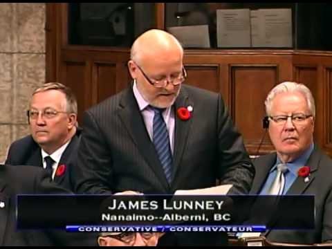 James Lunney SO31 on Canadian Health Food Association November 4, 2014