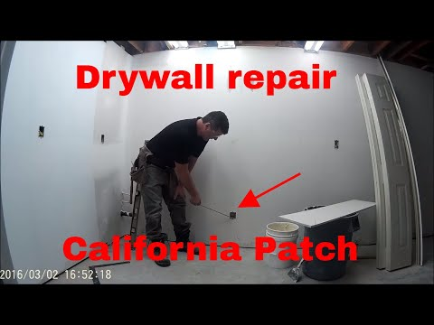 California drywall patch