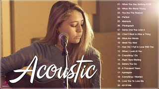 Top Acoustic Songs Cover 2021 Collection - Best Guitar Acoustic Cover Of Popular Love Songs Ever