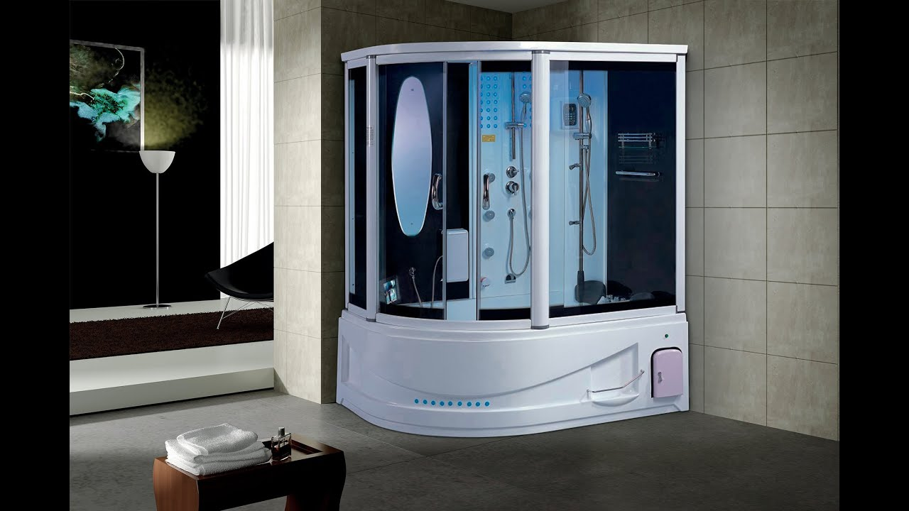 Luxury Siena Steam Shower By MayaBath.com   YouTube