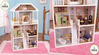 Kidkraft Savannah Dollhouse With Furniture Large Six Room Mansion Designed For Children Ages 3 & Up