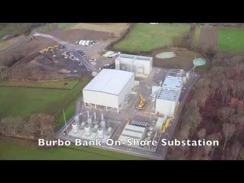 Brenig Construction - Burbo Bank Onshore Substation