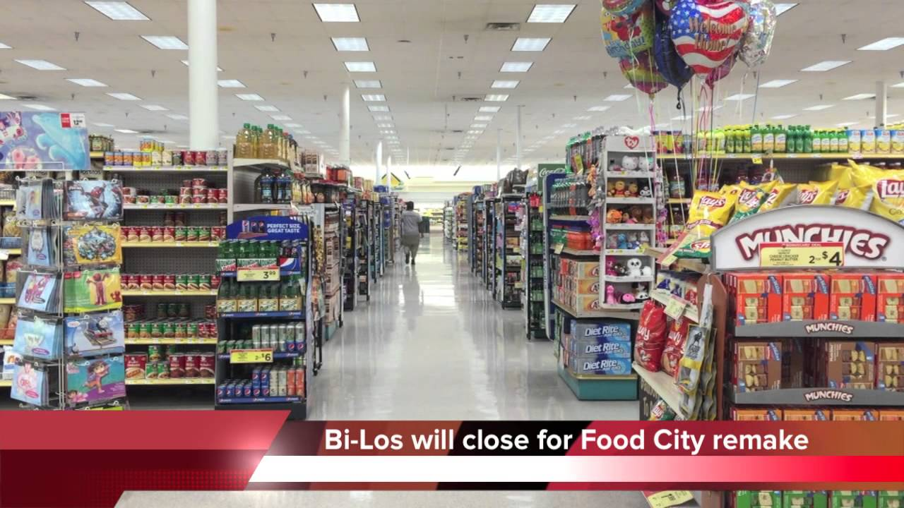 Bi Lo Stores >> Chattanooga Bi Lo Stores Closing For Food City Transition Youtube