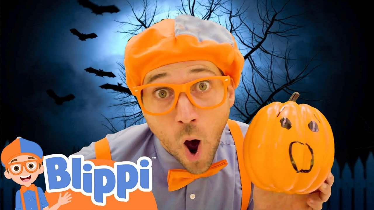 Blippi Halloween Song and More Blippi Halloween For Kids | Educational Videos For Toddlers