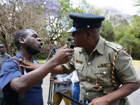 Civil society groups demonstrate over the death of Chris Msando