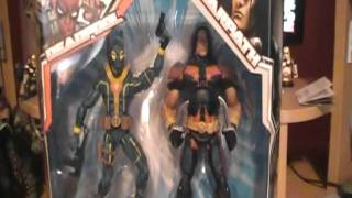 Marvel Legends Deadpool and Warpath/Thunderbird Action Figure Review