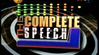 Complete Speech - 14th December 2015