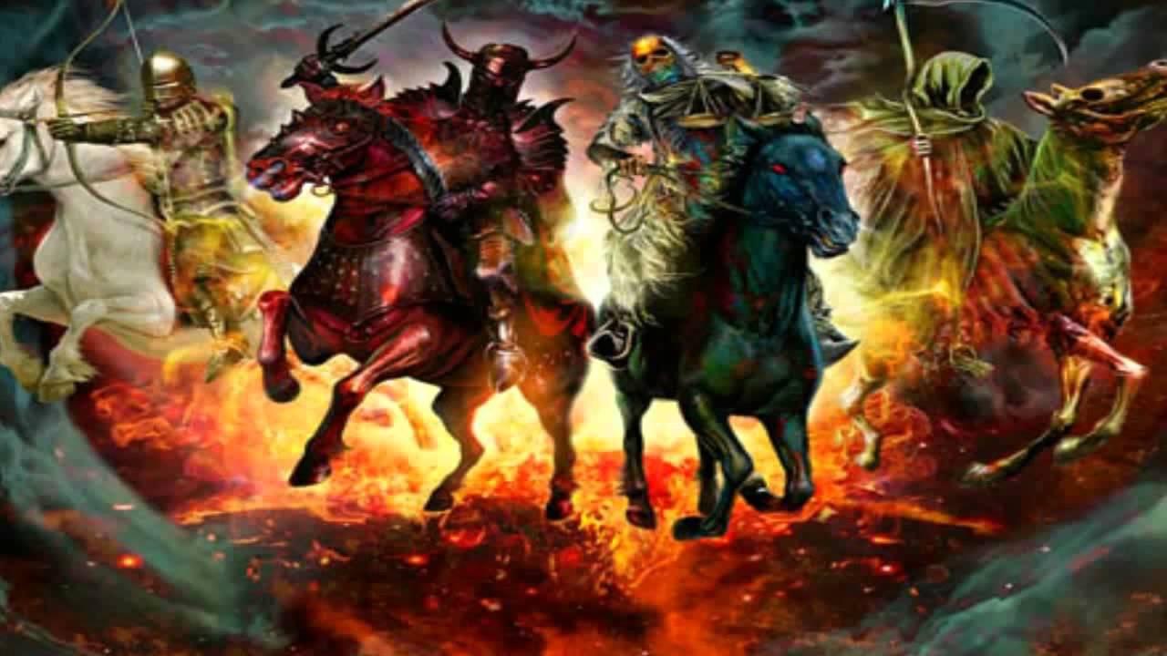 4 rider apocalypse names