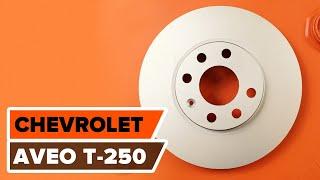 Wie CHEVROLET AVEO Saloon (T200) Bremsbelagsatz Scheibenbremse austauschen - Video-Tutorial
