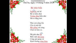 Chính tả bé nhìn biển (Tiếng Việt 2) - Cô Trần Thị Bạch Tuyết