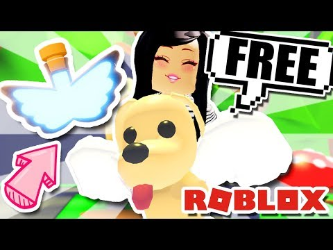 How To Get A FREE FLYING PET POTION  In ADOPT ME! Roblox Update Gamepass