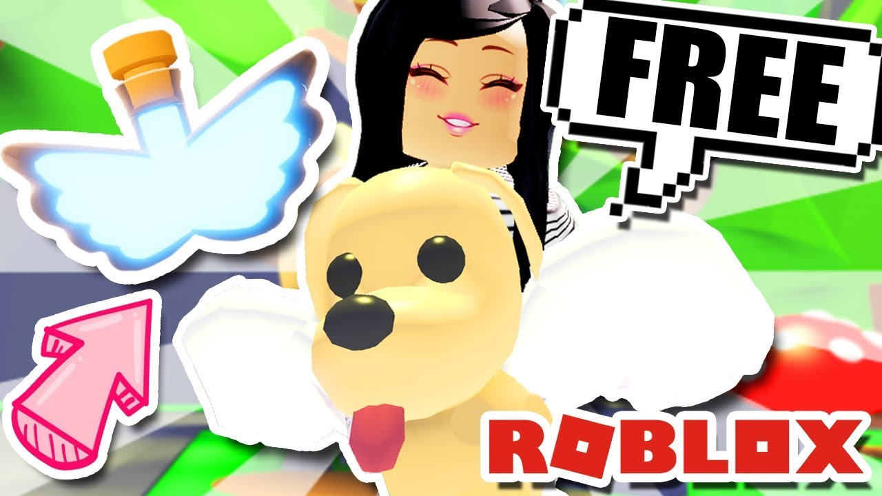 How To Get A Free Flying Pet Potion In Adopt Me Roblox Update