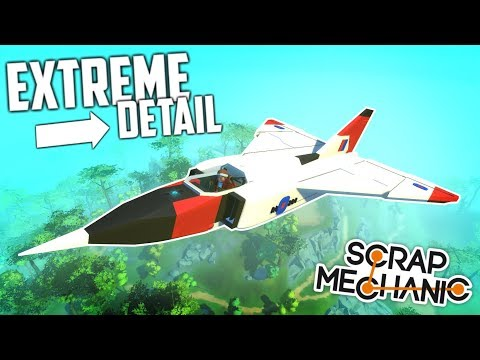 DETAILED PLANES, WESTERN TARGET MINI-GAME and MORE! - Scrap Mechanic Gameplay Viewer Creations