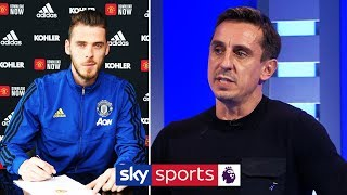 Gary Neville's verdict on David de Gea's new contract at Manchester United