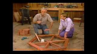How To Build A Picnic Table - How To Build A Planter Box - Hexagonal Picnic Table [3 Of 3]
