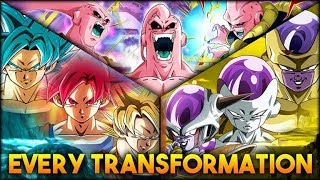 EVERY TRANSFORMATION IN DOKKAN! (OCTOBER 2018) (DBZ: Dokkan Battle)
