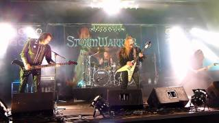 "Stormwarrior - ""Sign of the Warlord"" live"