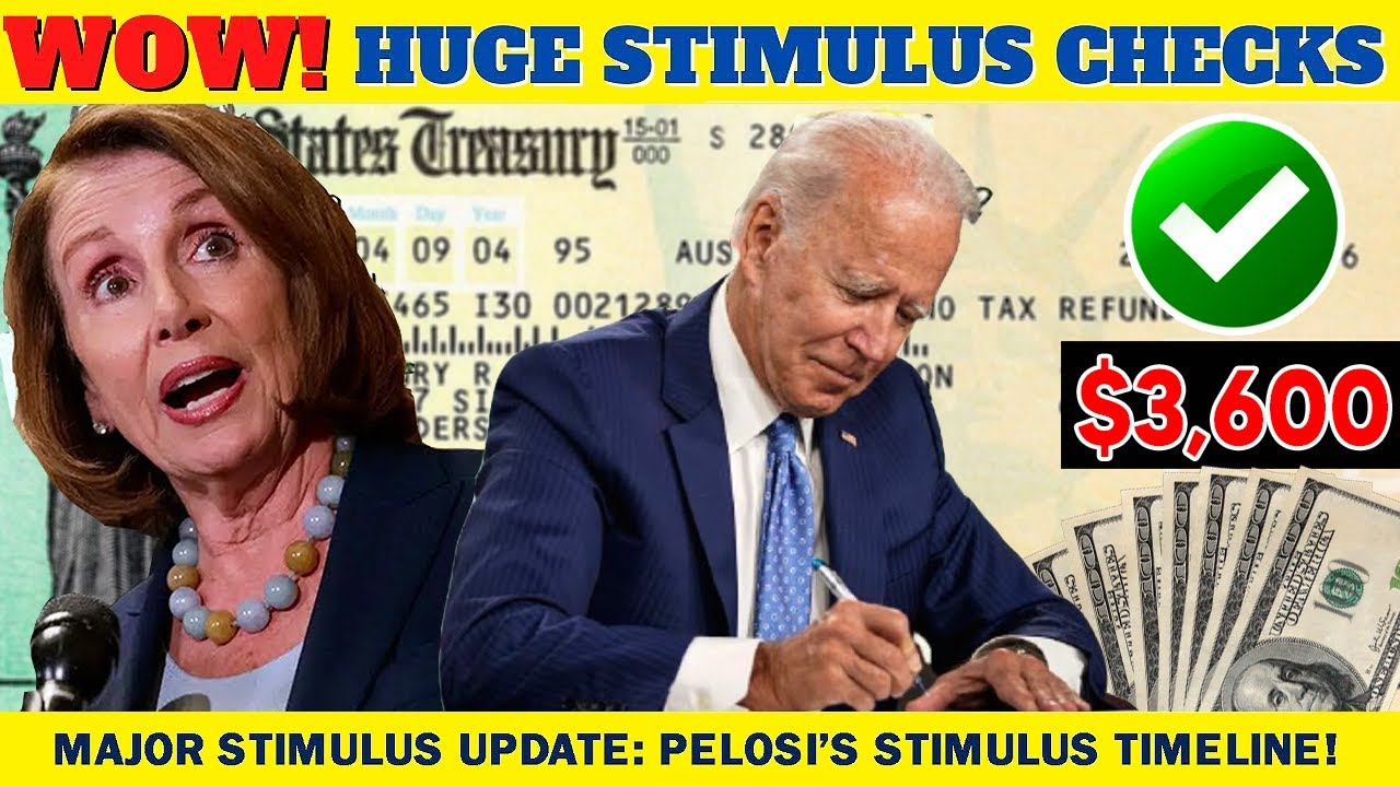 Download JUST IN! $2000 STIMULUS CHECKS ARRIVE SOON! STIMULUS CHECK UPDATE