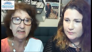 "Sylva Zalmansona & Anat Zalmanson Kuznetsov answer questions about ""Operation Wedding"" (short clip)"