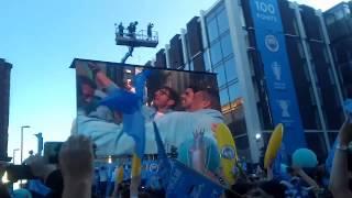 Manchester city premier league champions parade 2018