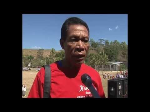 Sport for Life covered by Timor-Leste national television (RTTL)