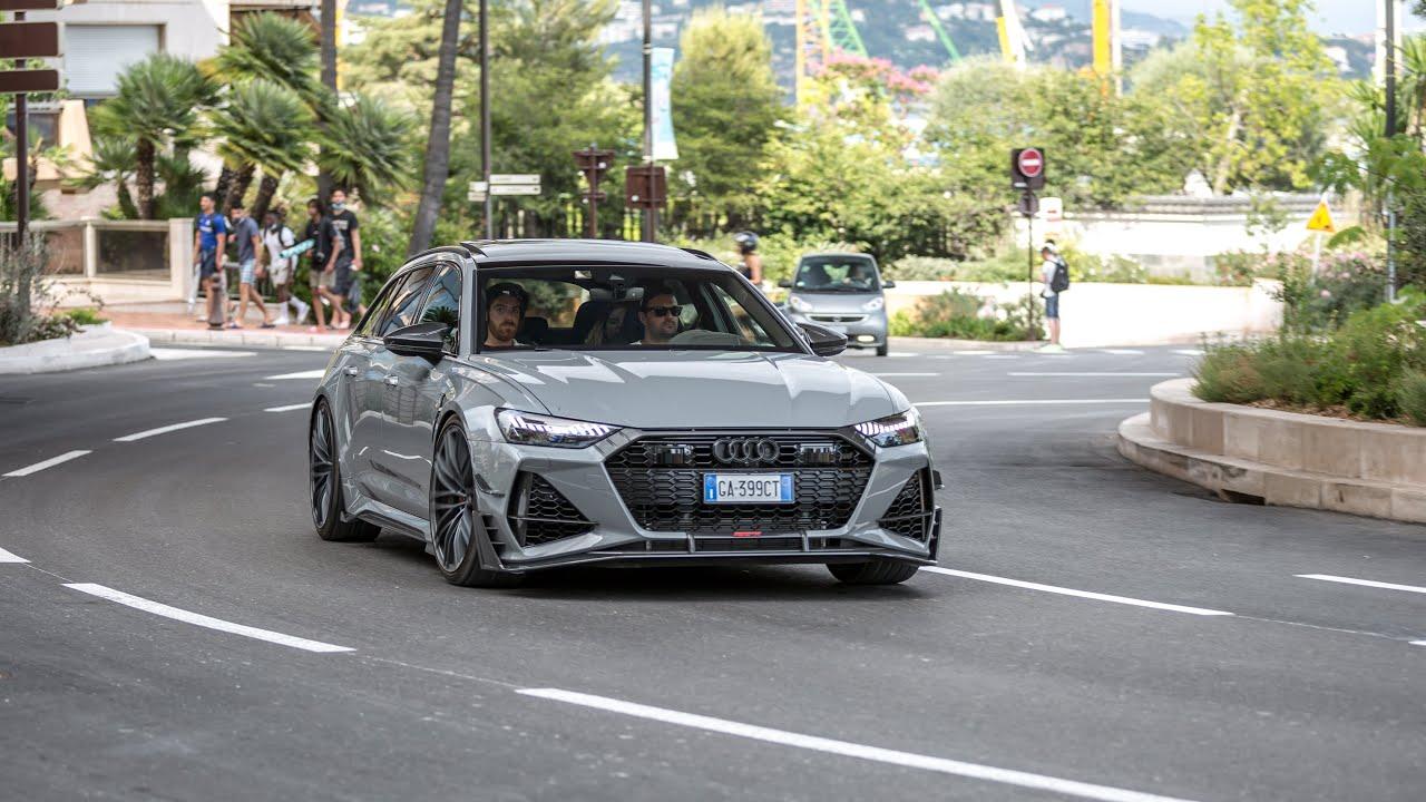 Download Supercars in Monaco 2020 - VOL. 17 (Monza SP2, Chiron, Capristo Aventador SuperVeloce, 2020 ABT RS6)
