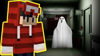 ENCONTREI UM FANTASMA NO HOSPITAL - MINECRAFT