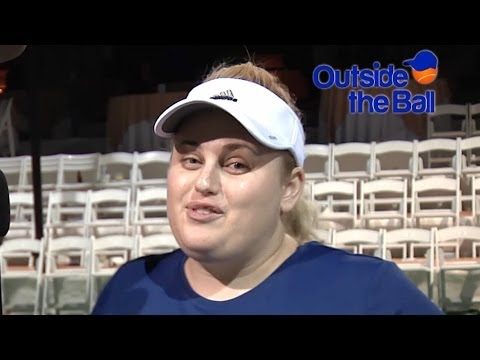 Funny Girl Rebel Wilson Wants to Play Tennis Doubles with the Williams Sisters