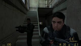 Half Life 2.  Штурм здания.  Часть 21 .