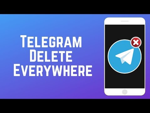 """Telegram """"Delete Everywhere"""" – Delete Your Messages for Everyone"""