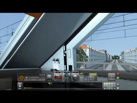 Life Of A Train Engineer-DB Intercity Ice 2-Hannover to Hamburg #1