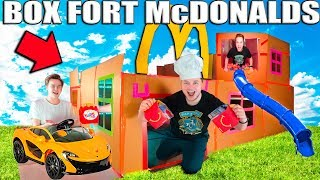 giant-box-fort-mcdonalds-challenge-drive-through-play-place-more
