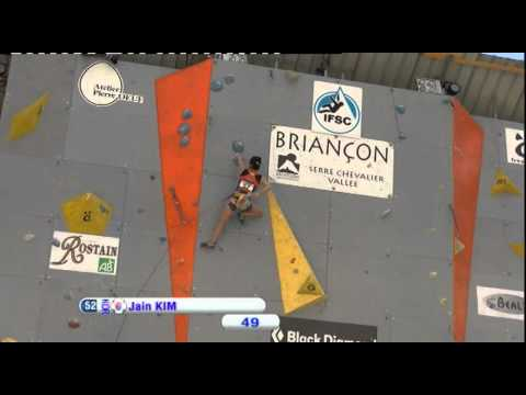 IFSC Climbing World Cup Briançon 2012 - Lead - Replay Semi-Finals