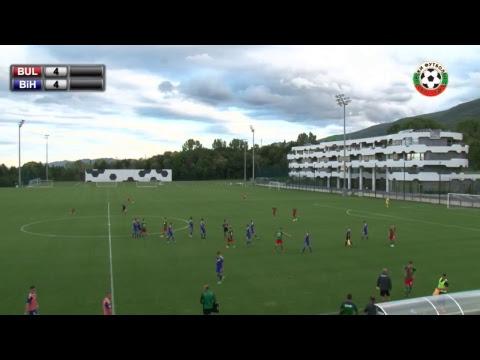 Футбол - U19 - България VS  Босна и Херцеговина