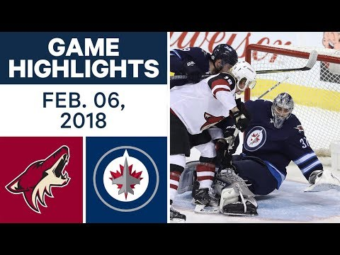 NHL Game Highlights | Coyotes vs. Jets — Feb. 06, 2018