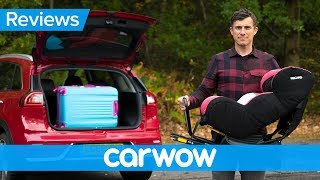 Kia Niro hybrid 2018 practicality review | Mat Watson Reviews