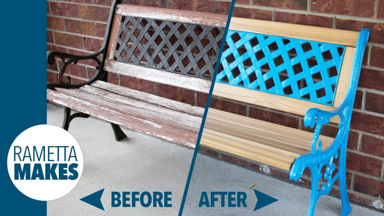 How To Make A Patio Bench