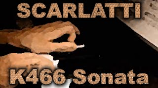 Domenico SCARLATTI: Sonata in F minor, K466