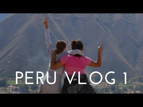 PERU TRAVEL VLOG - Day 1 | I ATE ALPACA HEART, GOT LEFT, & LOST MY DEBIT CARD 😱