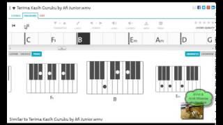 belajar chord piano terima kasihku guruku afi junior