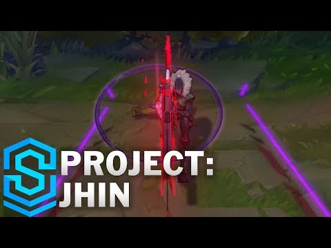 PROJECT: Jhin Skin Spotlight - Pre-Release - League of Legends