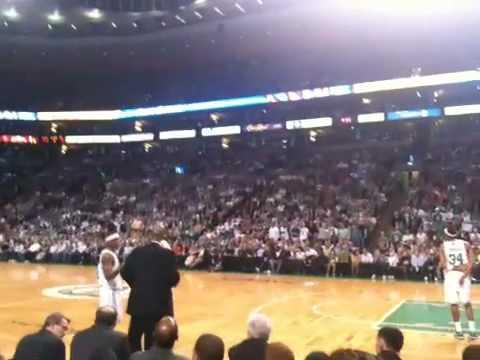 Celtics Courtside Seats