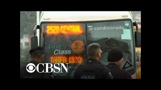 Police shoot man who took bus passengers hostage in Brazil