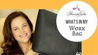 What's In My Work Bag? | ShaneeJudee