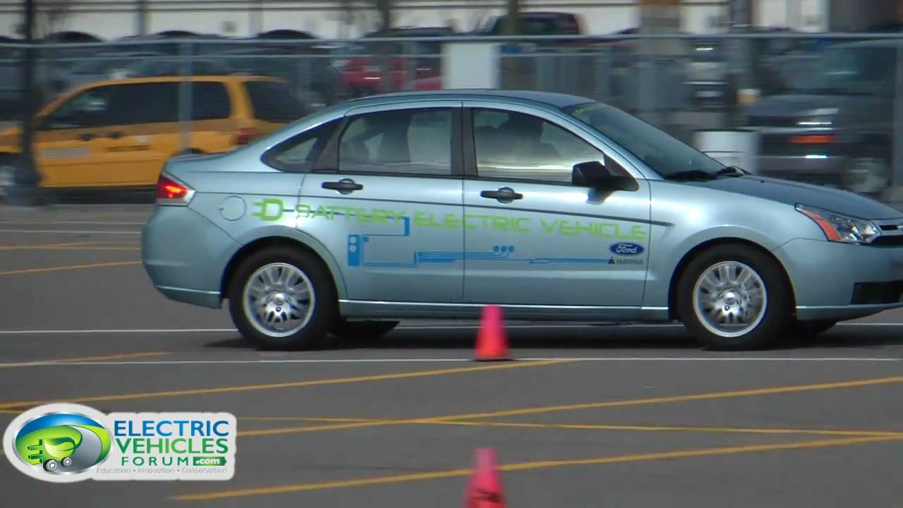 Electric Vehicles Forum Interviews Drives Ford Focus Bpi Conference