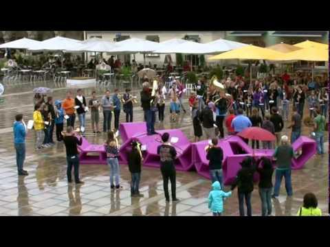 Flashmob Jugend Blasmusikbezirksverband Bruck an der Mur